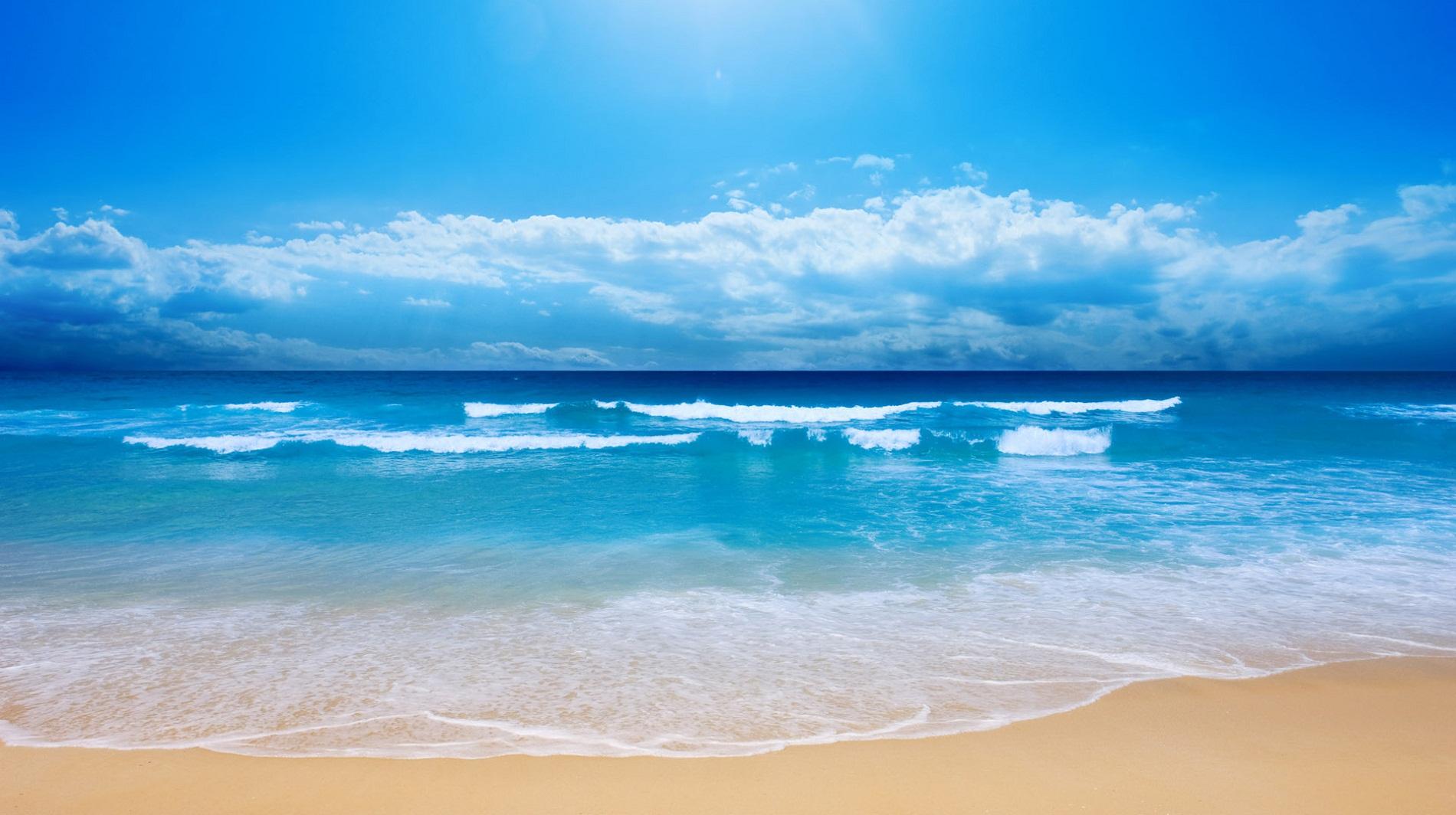 תמונה של חוף שלווה